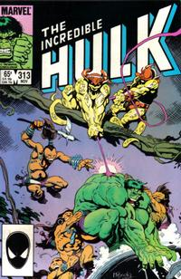 Cover Thumbnail for The Incredible Hulk (Marvel, 1968 series) #313 [Direct]
