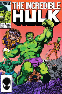 Cover Thumbnail for The Incredible Hulk (Marvel, 1968 series) #314 [Direct]