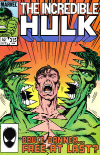 Cover Thumbnail for The Incredible Hulk (Marvel, 1968 series) #315 [Direct Edition]
