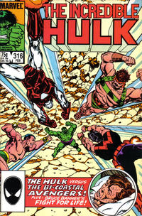 Cover Thumbnail for The Incredible Hulk (Marvel, 1968 series) #316 [Direct Edition]
