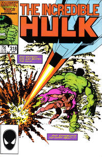 Cover Thumbnail for The Incredible Hulk (Marvel, 1968 series) #318 [Direct Edition]