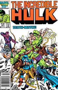 Cover Thumbnail for The Incredible Hulk (Marvel, 1968 series) #321 [Newsstand Edition]
