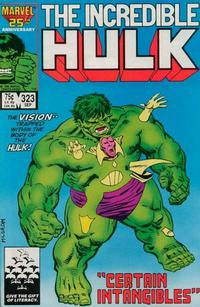 Cover Thumbnail for The Incredible Hulk (Marvel, 1968 series) #323 [Direct Edition]
