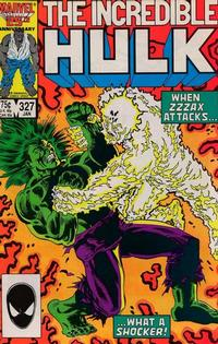 Cover Thumbnail for The Incredible Hulk (Marvel, 1968 series) #327 [Direct Edition]