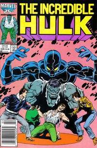 Cover Thumbnail for The Incredible Hulk (Marvel, 1968 series) #328 [Newsstand Edition]