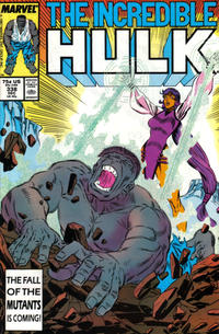 Cover Thumbnail for The Incredible Hulk (Marvel, 1968 series) #338 [Direct]