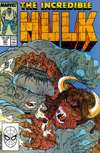 Cover Thumbnail for The Incredible Hulk (Marvel, 1968 series) #341 [Direct]