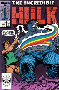 Cover Thumbnail for The Incredible Hulk (Marvel, 1968 series) #355 [Direct]