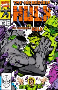 Cover Thumbnail for The Incredible Hulk (Marvel, 1968 series) #376 [Direct]