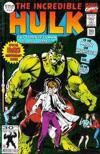 Cover Thumbnail for The Incredible Hulk (Marvel, 1968 series) #393 [Green Foil Cover]