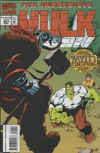 Cover Thumbnail for The Incredible Hulk (Marvel, 1968 series) #421 [Direct Edition]