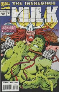 Cover Thumbnail for The Incredible Hulk (Marvel, 1968 series) #422 [Direct Edition]