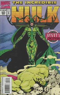 Cover Thumbnail for The Incredible Hulk (Marvel, 1968 series) #423 [Direct Edition]