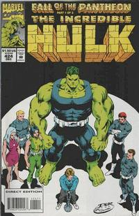 Cover Thumbnail for The Incredible Hulk (Marvel, 1968 series) #424 [Direct Edition]