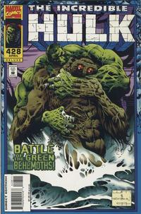 Cover Thumbnail for The Incredible Hulk (Marvel, 1968 series) #428 [Deluxe Direct Edition]