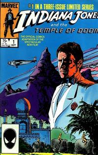 Cover Thumbnail for Indiana Jones and the Temple of Doom (Marvel, 1984 series) #1 [Direct Market Edition]