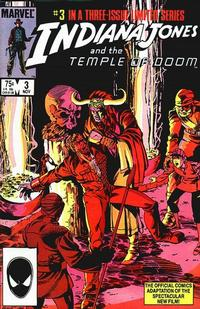 Cover Thumbnail for Indiana Jones and the Temple of Doom (Marvel, 1984 series) #3 [Direct Market Edition]