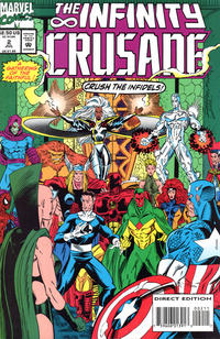 Cover Thumbnail for Infinity Crusade (Marvel, 1993 series) #2 [Direct Edition]