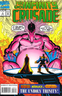Cover Thumbnail for Infinity Crusade (Marvel, 1993 series) #3 [Direct Edition]