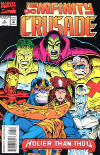Cover Thumbnail for Infinity Crusade (Marvel, 1993 series) #4 [Direct Edition]