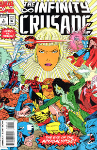 Cover Thumbnail for Infinity Crusade (Marvel, 1993 series) #5 [Direct Edition]