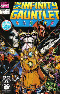 Cover Thumbnail for The Infinity Gauntlet (Marvel, 1991 series) #1 [Direct]