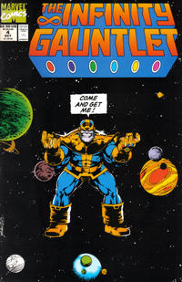 Cover Thumbnail for The Infinity Gauntlet (Marvel, 1991 series) #4 [Direct]