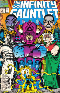 Cover Thumbnail for The Infinity Gauntlet (Marvel, 1991 series) #5 [Direct]