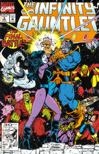Cover Thumbnail for The Infinity Gauntlet (Marvel, 1991 series) #6 [Direct]