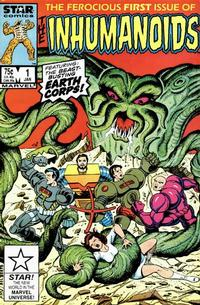 Cover Thumbnail for The Inhumanoids (Marvel, 1987 series) #1 [Direct Edition]