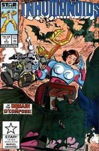 Cover Thumbnail for The Inhumanoids (Marvel, 1987 series) #3