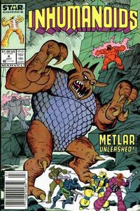 Cover Thumbnail for The Inhumanoids (Marvel, 1987 series) #4