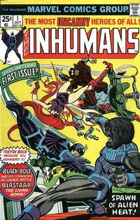 Cover Thumbnail for The Inhumans (Marvel, 1975 series) #1 [Regular Edition]