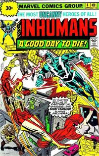 Cover Thumbnail for The Inhumans (Marvel, 1975 series) #4 [30¢ Price Variant]