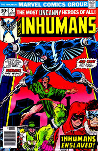 Cover Thumbnail for The Inhumans (Marvel, 1975 series) #5 [Regular Edition]