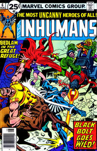 Cover for The Inhumans (Marvel, 1975 series) #6 [30¢]