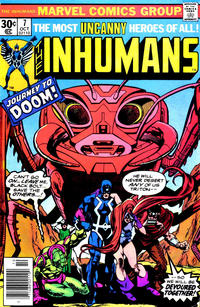 Cover Thumbnail for The Inhumans (Marvel, 1975 series) #7 [Regular Edition]