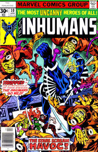 Cover Thumbnail for The Inhumans (Marvel, 1975 series) #10
