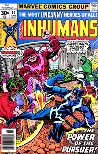 Cover Thumbnail for The Inhumans (Marvel, 1975 series) #11 [30¢ Cover Price]