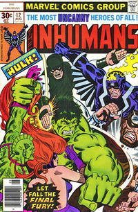 Cover Thumbnail for The Inhumans (Marvel, 1975 series) #12 [30¢]