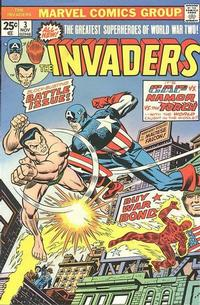 Cover Thumbnail for The Invaders (Marvel, 1975 series) #3 [Regular Edition]