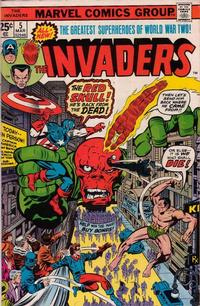 Cover Thumbnail for The Invaders (Marvel, 1975 series) #5 [Regular Edition]