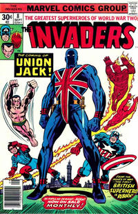 Cover Thumbnail for The Invaders (Marvel, 1975 series) #8 [Regular Edition]