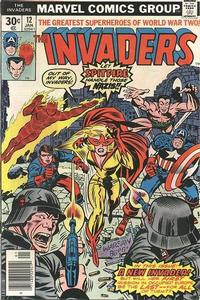 Cover Thumbnail for The Invaders (Marvel, 1975 series) #12 [Regular Edition]