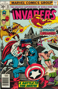 Cover Thumbnail for The Invaders (Marvel, 1975 series) #15