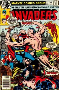 Cover Thumbnail for The Invaders (Marvel, 1975 series) #33 [Regular Edition]