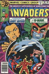Cover Thumbnail for The Invaders (Marvel, 1975 series) #38 [Regular Edition]