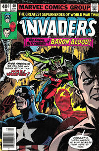 Cover Thumbnail for The Invaders (Marvel, 1975 series) #40