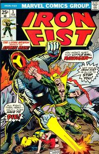 Cover Thumbnail for Iron Fist (Marvel, 1975 series) #3 [Regular Edition]