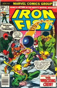 Cover Thumbnail for Iron Fist (Marvel, 1975 series) #11